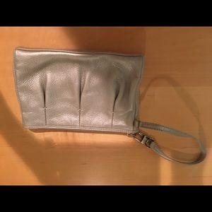 Cole Haan Wristlet Light Gold